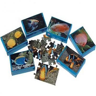Us Toy Fish Jigsaw Puzzles - 12 Per Pack - Pack Of 7 (Ustcyc173130) 23981875
