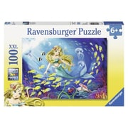 Ravensburger Usa Inc 19.5 In. X 14.25 In. Little Mermaid Puzzle 100 Piece (Jnsn72476)