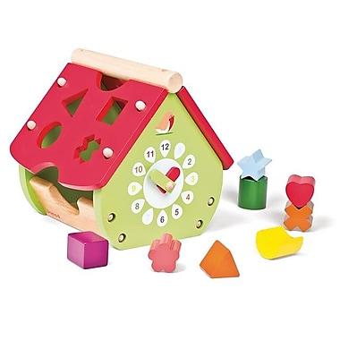 Juratoys Us Garden House Of Shape Sorter Baby Toy - Multi Color (Essen16213)