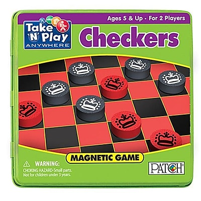 Playmonster 6.75 In. Take N Play Anywhere Games Checkers (Essen16547) 23982784