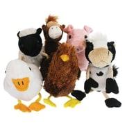 The Puppet Farm Animals Finger Puppets, Set Of 6 (Edre53380)