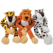 Us Toy Plush Hanging Wild Jungle Cats - 12 Per Pack - Pack Of 2 (Ustcyc175223)