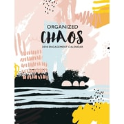 "2018 Willow Creek Press 6.5"" x 8.5"" Organized Chaos Engagement Calendar (47478)"
