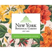 "2018 Willow Creek Press 4.25"" x 5.25"" New York Botanical Garden Box Calendar (47126)"