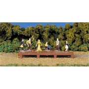 Bachmann Ho Figures Old West (Spws4205)