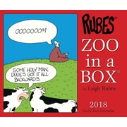 "2018 Willow Creek Press 4.25"" x 5.25"" Zoo In A Box Box Calendar (46969)"