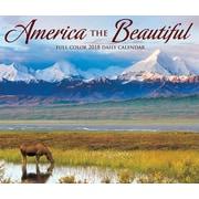 "2018 Willow Creek Press 4.25"" x 5.25"" America the Beautiful Box Calendar"