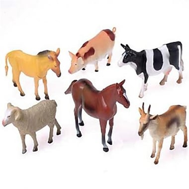 Us Toy Toy Farm Animals - 12 Per Pack - Pack Of 4 (Ustcyc173126)