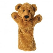 Puppet Company Long-Sleeved Glove Puppet, Bear - 15 In. (Puptc154)