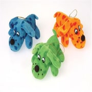 Us Toy Plush Polka Dot Lay Down Dogs - 12 Per Pack - Pack Of 5 (Ustcyc175324)