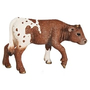 Schleich North America Texas Longhorn Calf Toy Figure (Trval101264)