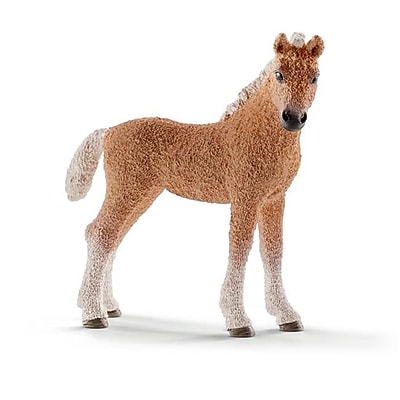 Schleich North America Bashkir Curly Foal Toy Figure - Brown (Trval98218) 23982408