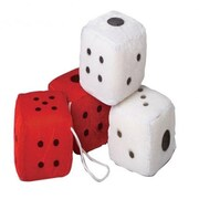 Us Toy Large Plush Dice - 12 Per Pack - Pack Of 3 (Ustcyc175444)
