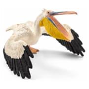 Schleich North America Pelican Toy Figure - White (Trval98067)