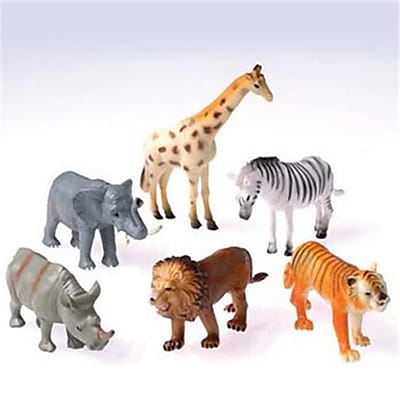 Us Toy Toy Wild Animals - 12 Per Pack - Pack Of 8 (Ustcyc172804) 23982312