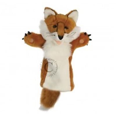 Puppet Company Long-Sleeved Glove Puppet, Fox -