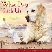 "2018 Willow Creek Press 12"" x 12"" What Dogs Teach Us Wall Calendar (46402)"