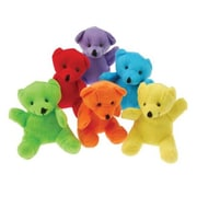 Us Toy Plush Neon Teddy Bears - 12 Per Pack - Pack Of 4 (Ustcyc175322)