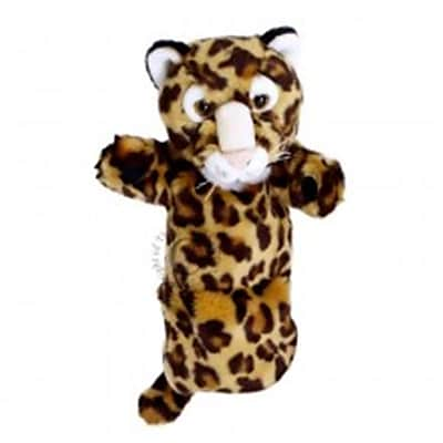 Puppet Company Long-Sleeved Glove Puppet, Leopard -
