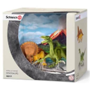 Schleich North America Triceratops & Therizinosaurus Set - 2 Piece (Trval97834)