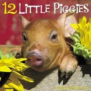 """2018 Willow Creek Press 12"""" x 12"""" 12 Little Piggies Wall Calendar (43838)"""