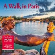 "2018 Willow Creek Press 12"" x 12"" A Walk in Paris Wall Calendar (43869)"