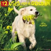 "2018 Willow Creek Press 12"" x 12"" 12 Uses for a Golden Wall Calendar (43845)"