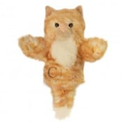 Puppet Company Carpets Glove Puppet, Cat - Ginger (Puptc014)
