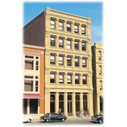 Bachmann Ho Building Kit Savings And Loan (Spws4798)