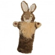 Puppet Company Long-Sleeved Glove Puppet, Rabbit - Wild (Puptc180)