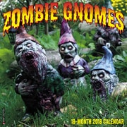 "2018 Willow Creek Press 12"" x 12"" Zombie Gnomes Wall Calendar (46976)"