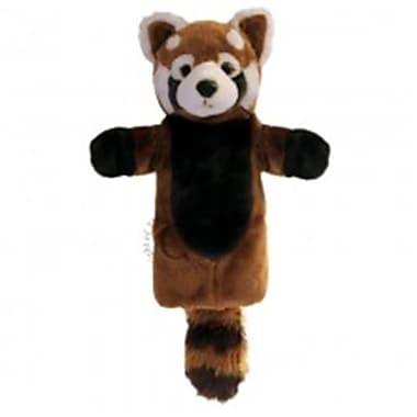 Puppet Company Long-Sleeved Glove Puppet, Panda - Red (Puptc182)