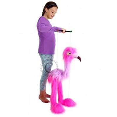 Puppet Company Marionette Giant Birds Puppet, Flamingo