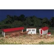 Bachmann Ho Farm Building And Animals Kit (Spws4484)