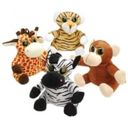 Us Toy 4 Piece Plush Big Eyed Animals - 5 Per Bags (Ustcyc175359)