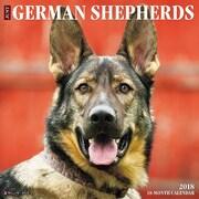 "2018 Willow Creek Press 12"" x 12"" German Shepherds Wall Calendar (44996)"