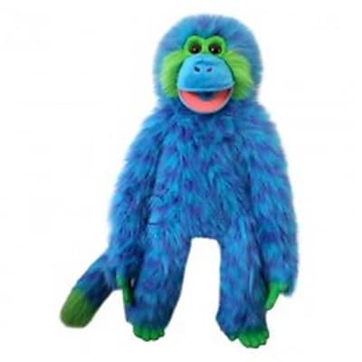 Puppet Company Monkey Puppet, Blue (Puptc042)