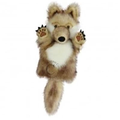 Puppet Company Carpets Glove Puppet, Wolf (Puptc041)