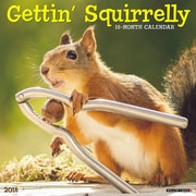 "2018 Willow Creek Press 12"" x 12"" Getting Squirrelly Wall Calendar (47164)"