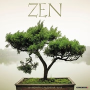 "2018 Willow Creek Press 12"" x 12"" Zen Wall Calendar (46617)"