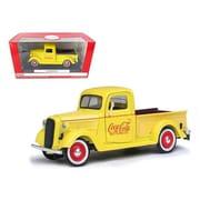 Motorcity Classics 1937 Ford Pickup Truck Coca Cola Yellow 1-24 Diecast Model Truck (Dtdp2499)