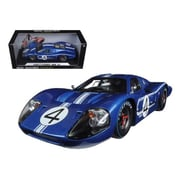 Shelby Collectibles 1967 Ford Gt Mk Iv No.4 Blue Lemans 24 Hours L.Ruby D.Hulme 1-18 Diecast Model Car (Dtdp1085)