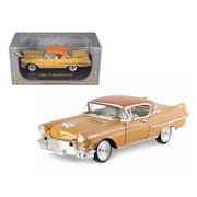 Signature Models 1957 Cadillac Series 62 Coupe De Ville Yellow 1-32 Diecast Car Model (Dtdp984)
