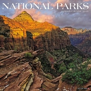 "2018 Willow Creek Press 12"" x 12"" National Parks Wall Calendar"