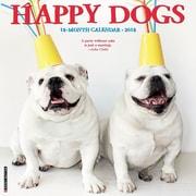 "2018 Willow Creek Press 12"" x 12"" Happy Dogs Wall Calendar (47379)"