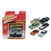 Johnny Lightning 1 By 64 Diecast Classic Gold Release 2 Set B Model Cars, Set Of 6 (Dtdp2950)