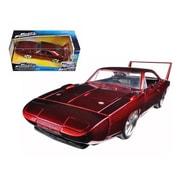 Jada 1969 Dodge Charger Daytona Red Fast & Furious 7 Movie 1-24 Diecast Model Car (Dtdp1536)