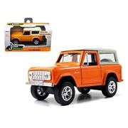 Jada 1973 Ford Bronco Orange 1-32 Diecast Model Car (Dtdp1578)