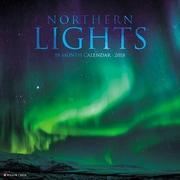 "2018 Willow Creek Press 12"" x 12"" Northern Lights Wall Calendar (47256)"