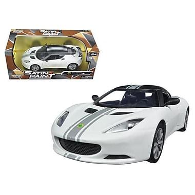 Motormax 1 By 24 Scale Diecast Lotus Evora S Matt White Model Car (Dtdp2888)